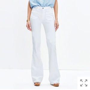 NWT Madewell Flea Market Flare Jeans Sz 27S